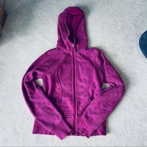 Lululemon scuba hoodie in magenta